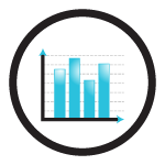 black_outline_stats icon